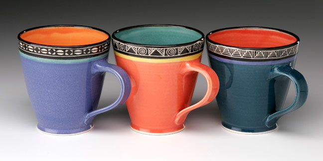 Guggina: big mugs