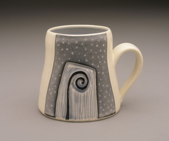Fiddlehead and Fern mug
